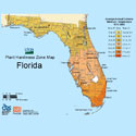 New 2012 USDA Plant Hardiness Zone Map for Florida