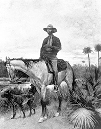 Illustration of a Cracker Cowboy