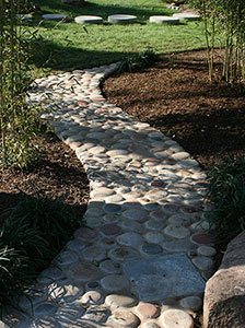 Walkways In The Landscape Gardening Solutions