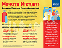 Small thumbnail image of Monster Mixtures, Household Chemicals graphic