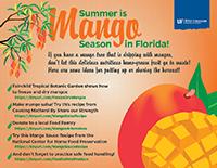 Mango preservation resources graphic