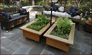 Raised Beds On Patio