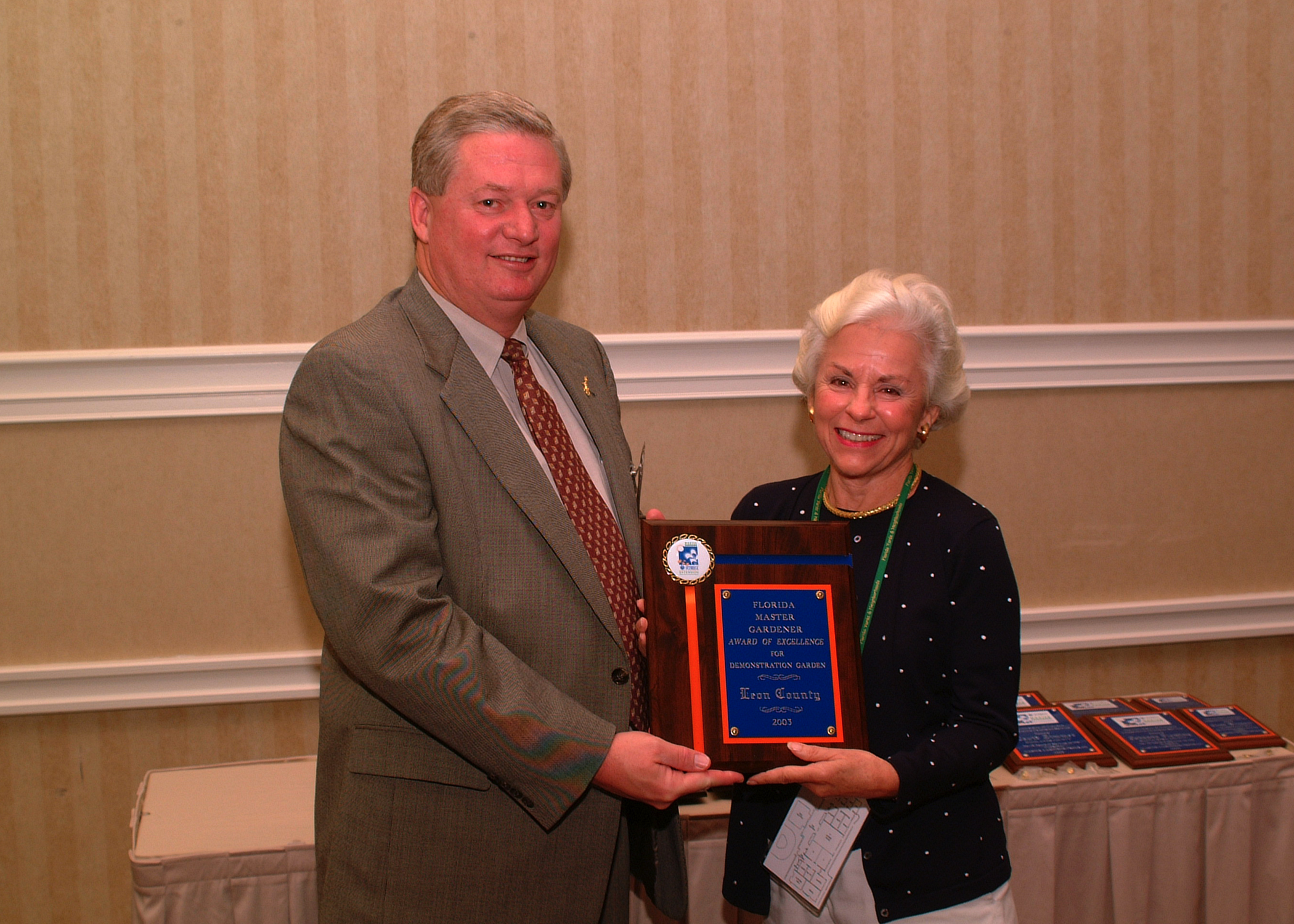 2003 Continued Training Conference Photos - Master Gardener Program ...