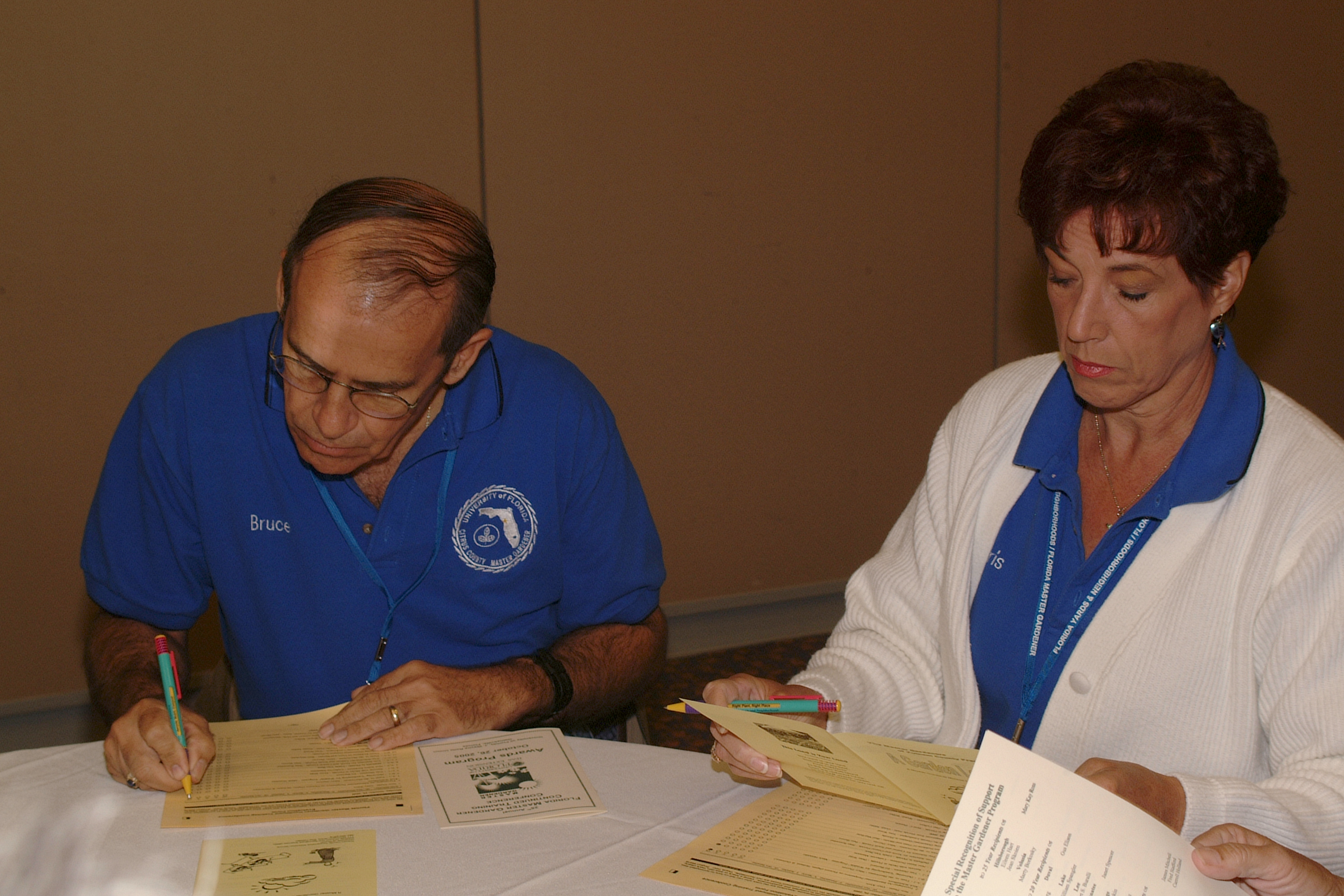 2005 Continued Training Conference Photos - Master Gardener Program ...