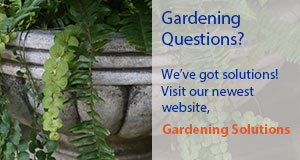 Gardening Solutions website