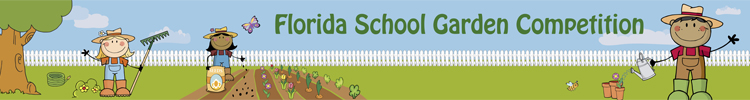 Florida School Garden Competition header