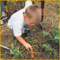 Tavares students digs up tuber